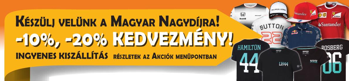 Magyar Nagydíj akció
